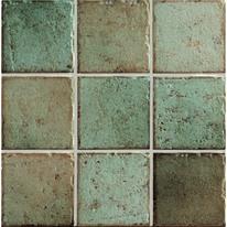 Piastrella Mistral 10 x 10 cm verde