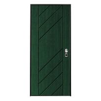 Porta blindata Maxima pino mordenzato verde foresta L 80 x H 210 cm dx