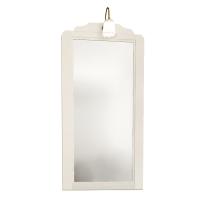 Specchio con faretto Laura bianco 60 x 113 cm