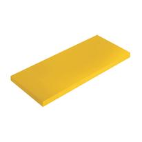 Mensola Spaceo giallo L 56 x P 15,5, sp 1,8 cm