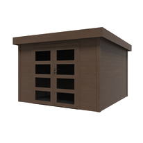 casetta in legno Oleandro 8,65 m², spessore 28 mm