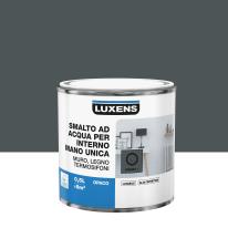 Smalto manounica Luxens all'acqua Grigio Granito 1 opaco 0.5 L