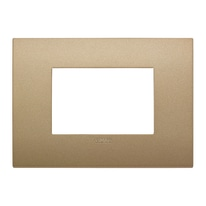 Placca 3 moduli Vimar Arké oro matt