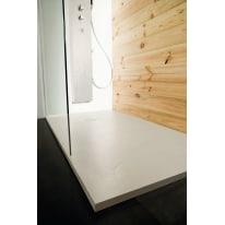 Piatto doccia resina Pizarra 180 x 70 cm ecrù