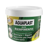 Stucco in pasta Aguaplast Alto Riempimento liscio bianco 1 kg