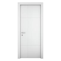 Porta da interno battente Urban bianco 90 x H 210 cm sx