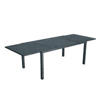 Tavolo allungabile Elba, 160 x 96,5 cm grigio antracite