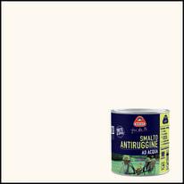 Smalto per ferro antiruggine bianco satinato 0,5 L