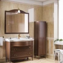 Mobile bagno Giotto noce L 104 cm