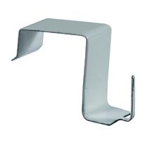 Supporti tasca larga da serramento in ferro colore bianco