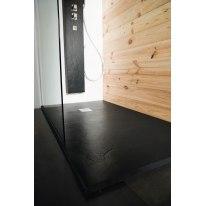 Piatto doccia resina Pizarra 170 x 100 cm nero