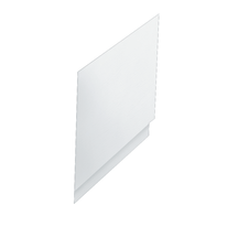 Pannello vasca laterale Amea bianco 70 x 70 cm