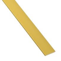 Profilo piatto 25 x 2 mm x 1 m