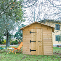 casetta in legno Bea 4,33 m², spessore 19 mm