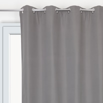 Tenda Phonic + Blackout grigio 135 x 280 cm