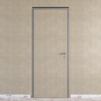 Porta da interno battente Pollock filomuro grezza 90 x H 210 cm reversibile