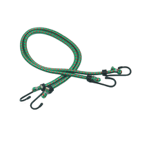 2 corde elastiche con gancii semplici in metallo Ø 6 mm, 0,6 m