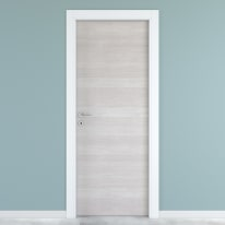 Porta da interno battente One ecru/white 60 x H 210 cm reversibile