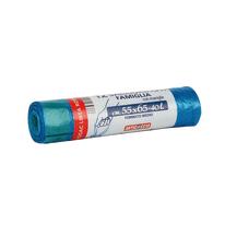 Sacco rifiuti Virosac 55 x 65 cm azzurro 12 pezzi