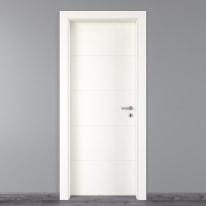 Porta da interno battente Prado bianco 80 x H 210 cm sx