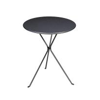 Tavolo pieghevole Gueridon, Ø 60 cm grigio antracite