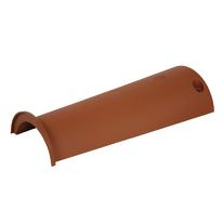 Colmo tondo in plastica color terracotta 17 x 8 cm, L 43 cm