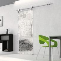 Porta da interno scorrevole Vogue/binario Lux 76 x H 215 cm sx