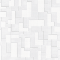 Carta da parati Tetris bianco 10 m