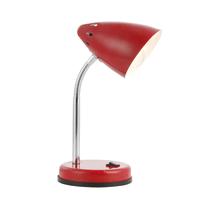 Lampada da scrivania flessibile Mono rosso