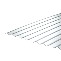 Lastra ondulata Onduline Onduclair PC Passo 76/18 in policarbonato 110 x 200  cm, spessore 0,8 mm