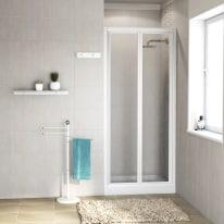 Porta doccia Elba 84-90, H 185 cm acrilico 3 mm stampato