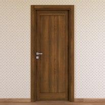 Porta da interno battente Sargas noce 70 x H 210 cm dx