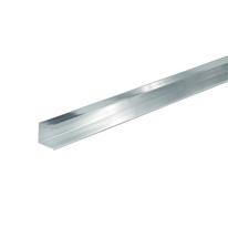 Profilo angolare a L in alluminio, L 10 x H 10 x S 1 mm x P 2 m