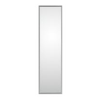specchio da parete rettangolare Cassettona argento 50 x 150 cm