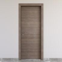 Porta da interno battente Stylish Grigio 70 x H 210 cm reversibile