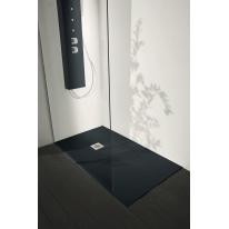 Piatto doccia resina Liso 190 x 80 cm antracite