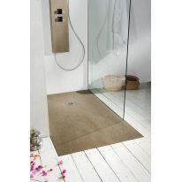 Piatto doccia resina Forest 130 x 80 cm olmo