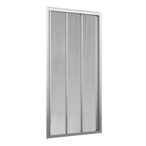 Porta doccia scorrevole Oceania 96-102, H 195 cm vetro temperato 4 mm silver