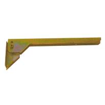 Mensola ribaltabile 220 x 50 mm, in acciaio zincato