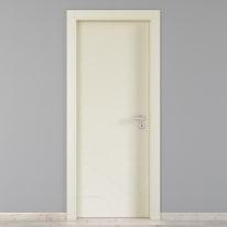 Porta da interno battente Wind ivory avorio 60 x H 210 cm sx
