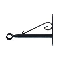 Supporto per bastone per tenda Inspire nero