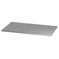 Ripiano Logo grigio L 90 x P 50 x H 2,2 cm