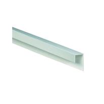Profilo terminale angolare PVC bianco L 300 mm