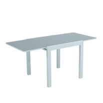 Tavolo allungabile Lisboa, 80 x 80 cm bianco