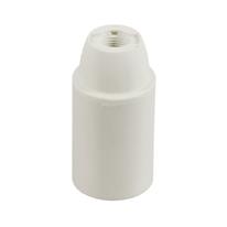 Portalampada attacco E14 (piccolo) bianco