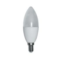 Lampadina LED E14 =60W oliva luce calda 300°