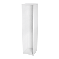 Struttura Spaceo bianco L 45 x P 45 x H 192 cm