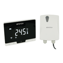 Cronotermostato Isnatch WiFI Smart Wi-Fi, Wireless