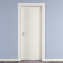 Porta da interno battente Star Bianco matrix 70 x H 210 cm reversibile
