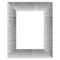 Cornice Soho argento 15 x 20 cm